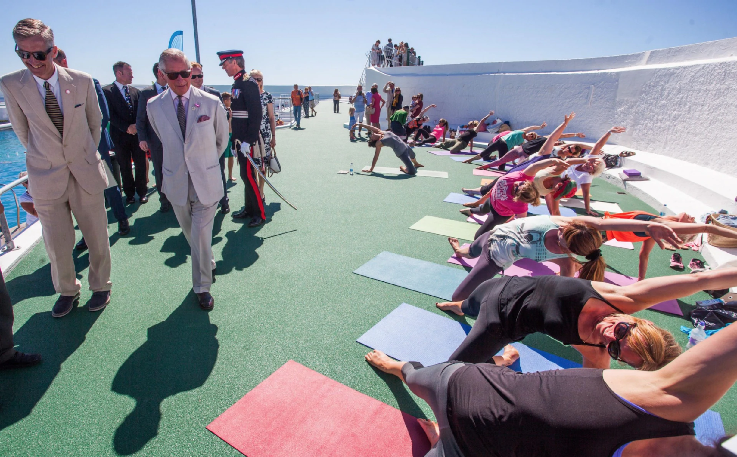 Yoga can ease pressure on health service, says Prince Charles